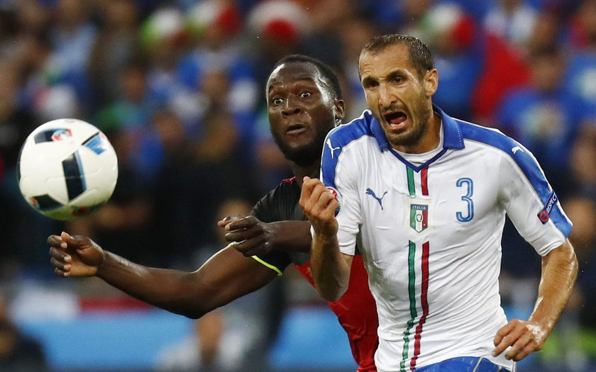 Włosi pokonali Belgów 2:0, choć to Czerwone Diabły prowadziły grę