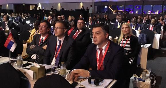 Srpska delegacija na Skupštini Interpola