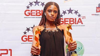 Victoria Michaels wins big at Ghana Entertainment & Business Industry Awards