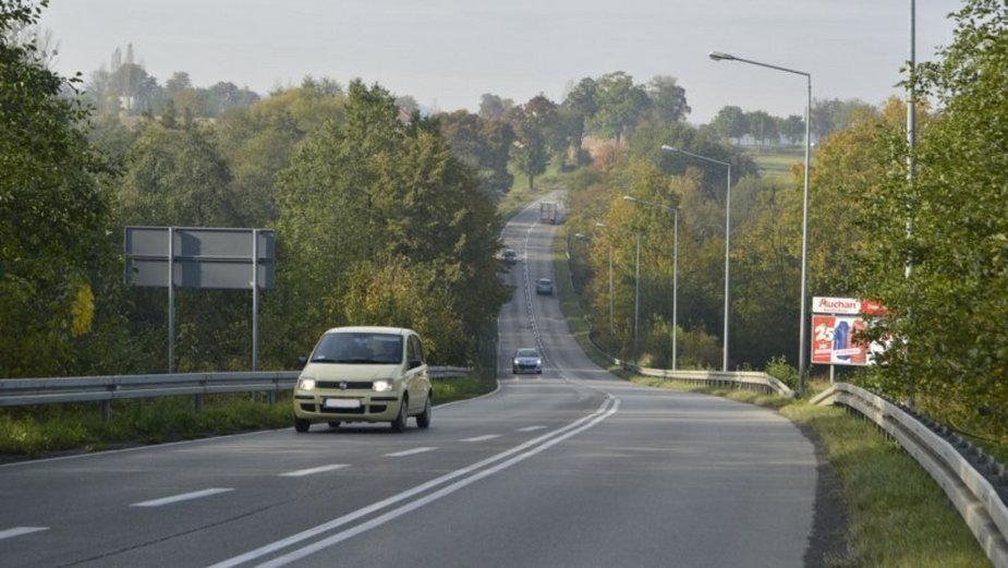 Droga łącząca Bielsko-Białą z Cieszynem