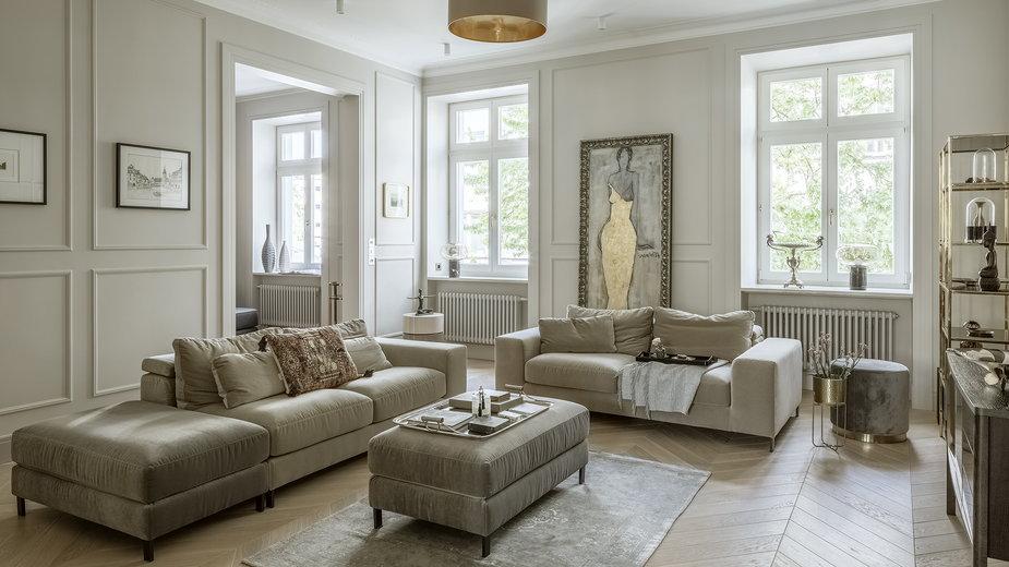 Apartament przy Mokotowskiej od HOLA design z międzynarodową nagrodą