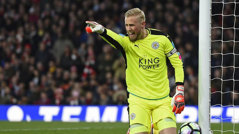 Bramkarz Leicester City Kasper Schmeichel