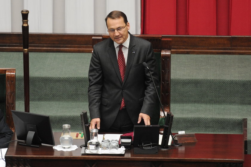 Radek Sikorski, były szef MSZ i były marszałek Sejmu