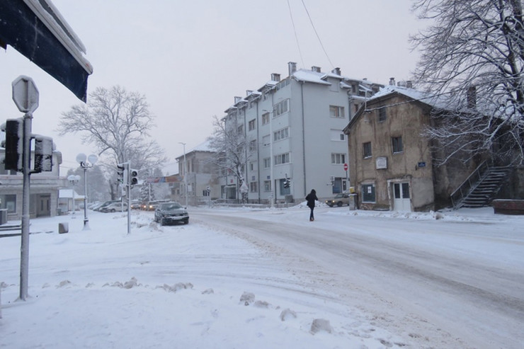 Sneg u Nevesinju