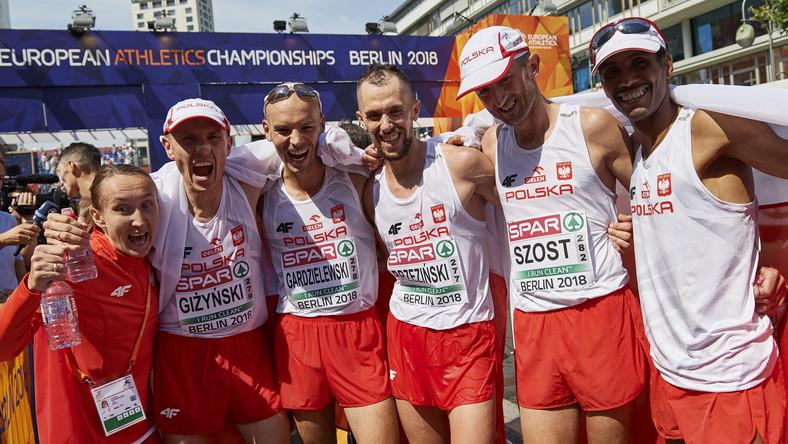 Izabela Trzaskalska, Mariusz Giżyński, Arkadiusz Gardzielewski, Błażej Brzeziński, Henryk Szost i Yared Shegumo
