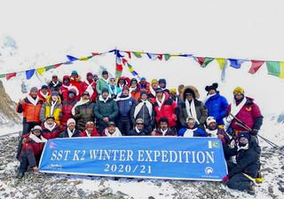 Zimowe wejście na K2. Nirmal Purja: Zrobiłem to bez użycia tlenu