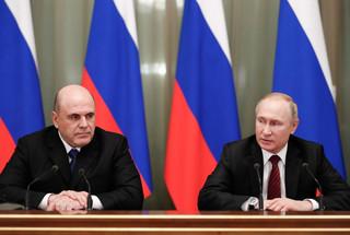 Rosja: Ogłoszono skład nowego rządu