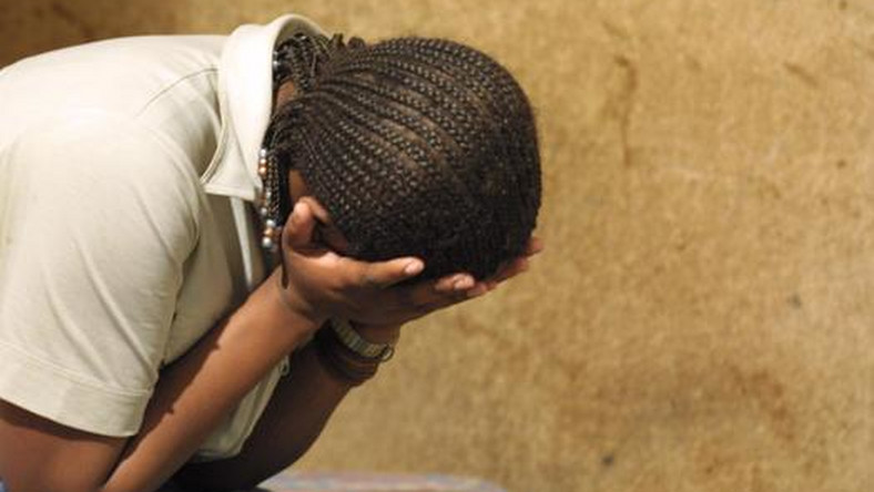 An illustrative photo of a rape victim [dailytimes]