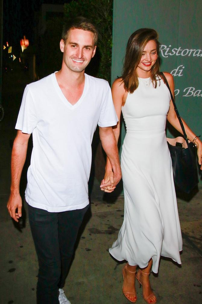 Miranda Ker sa suprugom Evanom