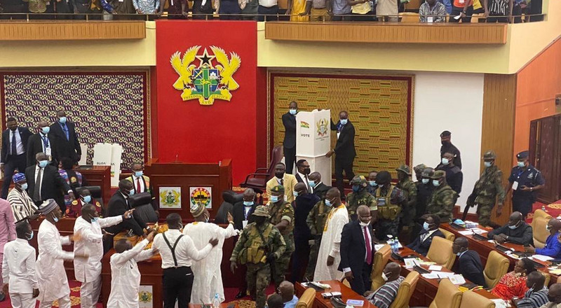 Investigate military invasion of Parliament – Mahama to MPs
