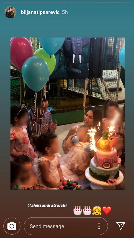 Aleksandra i Viktor Troicki proslavili rođendan ćerke, a pogledajte šta su Tipsarevići uradili NASRED SLAVLJA