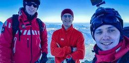 Bohaterska postawa strażaków. Zdobyli Mont Blanc dla Fundacji Dorastaj z Nami