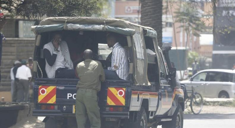 Drama as 17 robbery with violence suspects escape from police custody