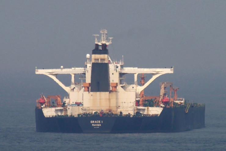 Tanker Grejs Gibraltar EPA - A Carrasco Ragel