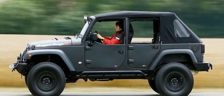 Jeep Wrangler by Schmitt | Fascynacje