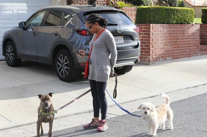 Dorija Ragland sa psima