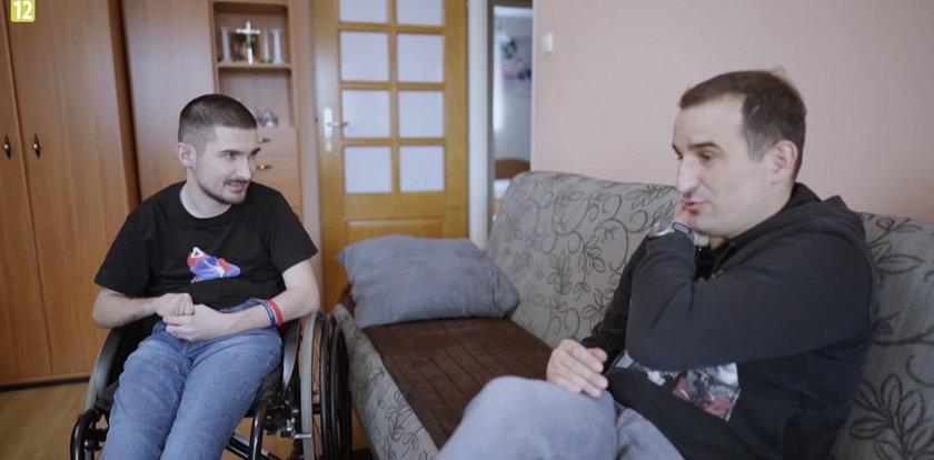 """""""To tylko kilka dni"""" gwiazdy przejmują opiekę nad niepełnosprawnymi. Na pierwszy ogień poszedł Misiek Koterski – jak mu poszło?"""
