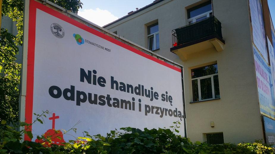 Billboard Stowarzyszenia MOST