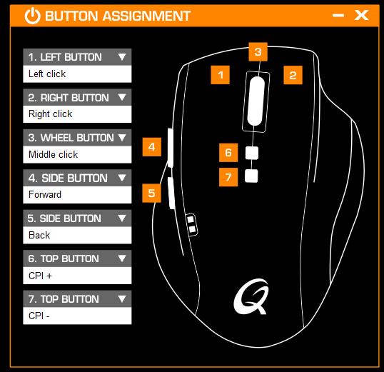 Programowanie przycisków, fot. własne