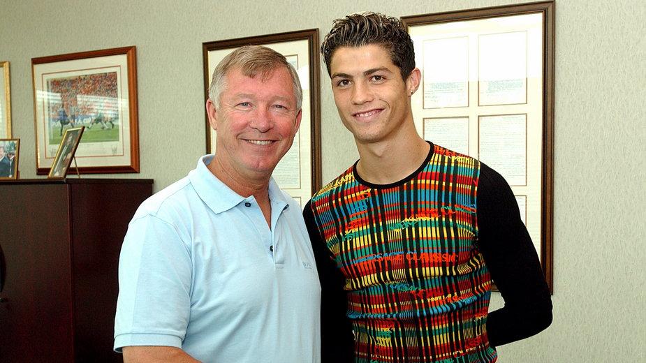 Sir Alex Ferguson i Cristiano Ronaldo