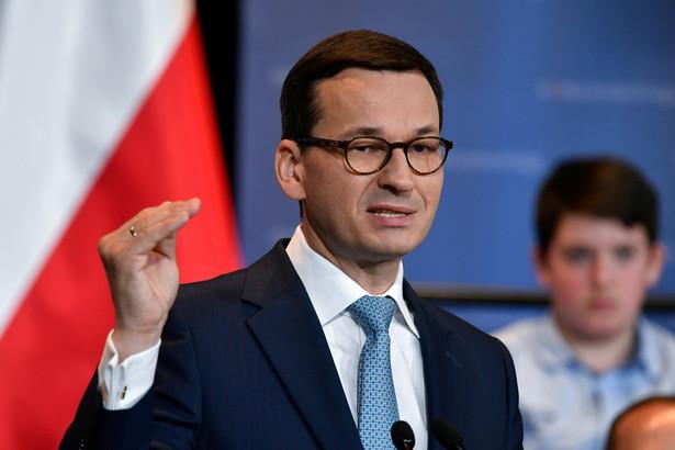 """""""(Dochody z tytułu CIT - PAP) w tamtym roku wzrosły o 13 proc. i w tym roku też wzrosną o 13 proc."""" - powiedział Morawiecki podczas Europejskiego Kongresu Gospodarczego w Katowicach."""