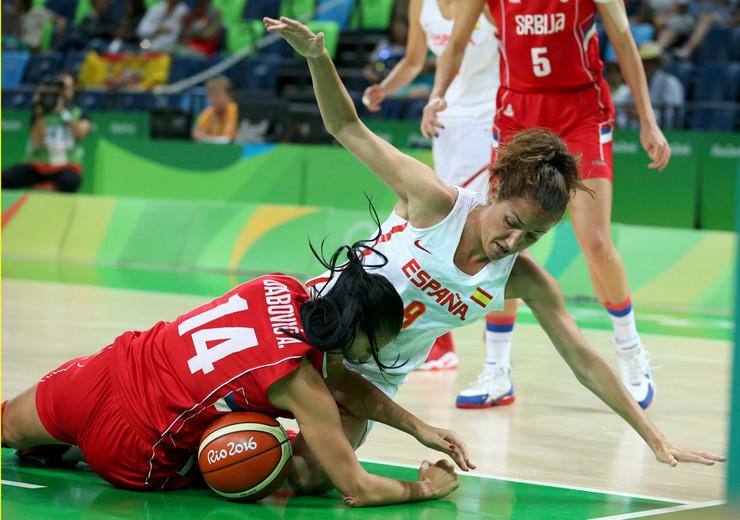Ženska košarkaška reprezentacija Srbije, Ženska košarkaška reprezentacija Španije