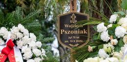 Tak wygląda grób Wojciecha Pszoniaka