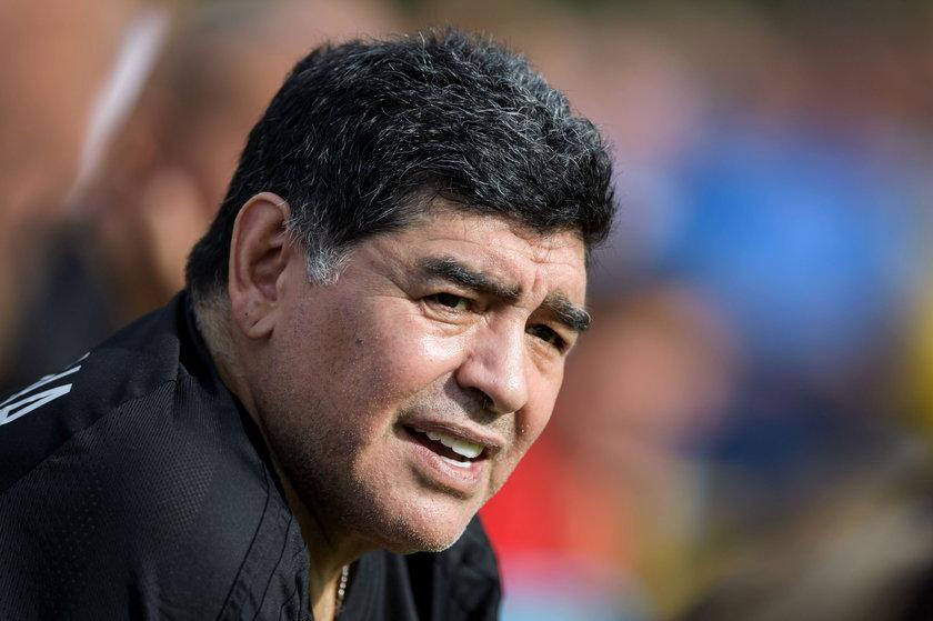 Diego Maradona zadeklarował poparcie dla Nicolasa Maduro