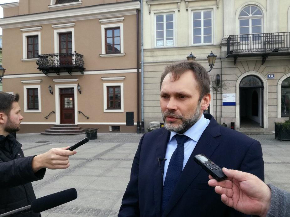 Grzegorz Lorek w Piotrkowie Trybunalskim