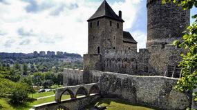 Będzin - zamek nad Czarną Przemszą jednym z najpiękniejszych w Śląskiem