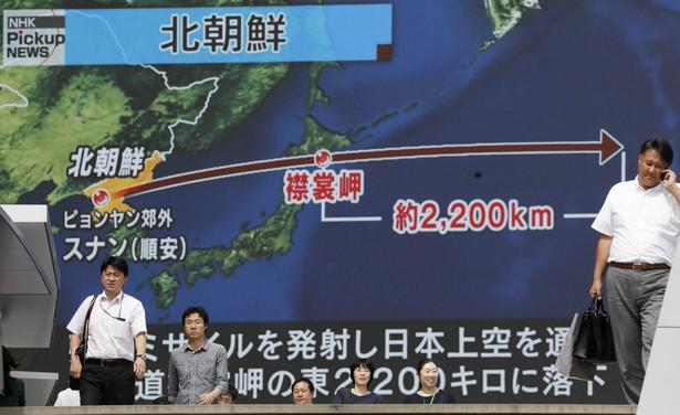 Armia USA podała, że był to pocisk balistyczny zasięgu pośredniego - IRBM (Intermediate-Range Ballistic Missile), który przeleciał nad północną Japonią zanim spadł do Pacyfiku