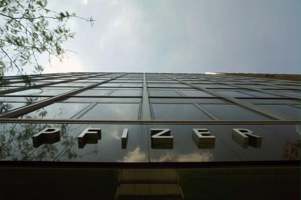 Siedziba firmy Pfizer w USA, fot. Bloomberg