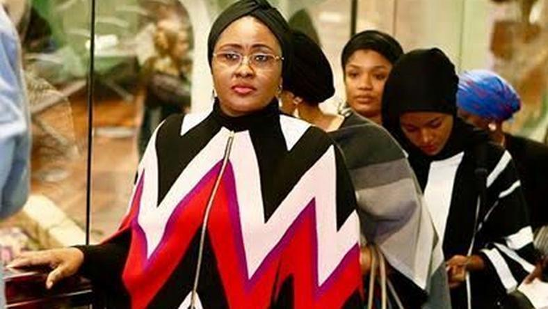 Aisha Buhari dons over a million Ferragamo Cape