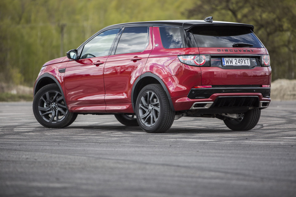 Land Rover Discovery Sport Si4 - styl, komfort i dużo miejsca