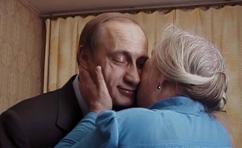 Władimir Putin składa wizytę swojej nauczycielce