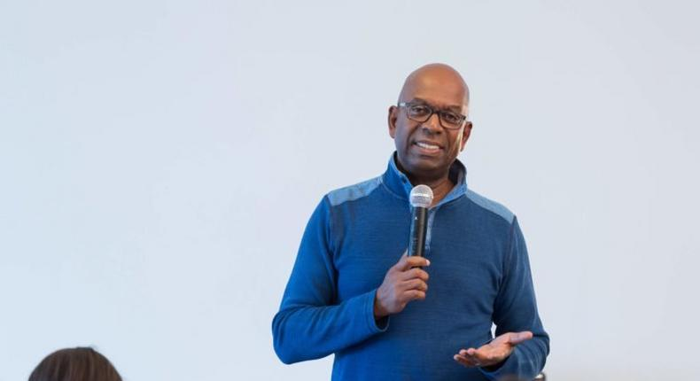 Safaricom social media pages go grey after announcing CEO Bob Collymore's death