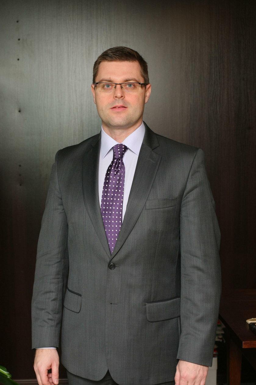 Jerzy Michalak (42 l.), wicemarszałek województwa