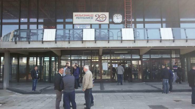Zeleznice RS strajk Banjaluka