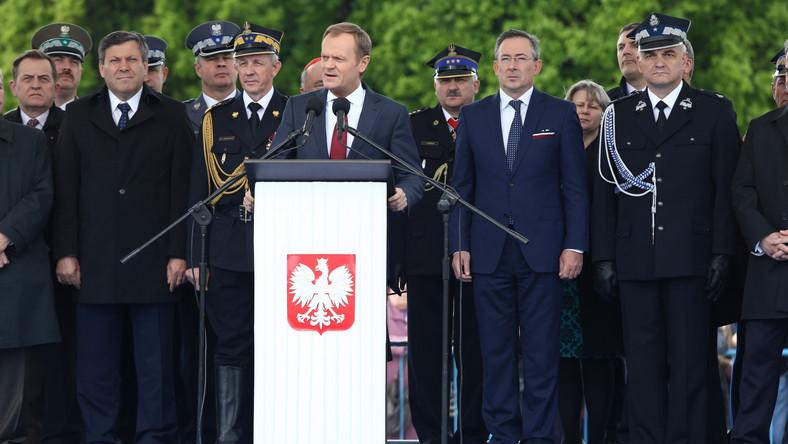 Premier Tusk: Polska straż pożarna najlepsza w Europie