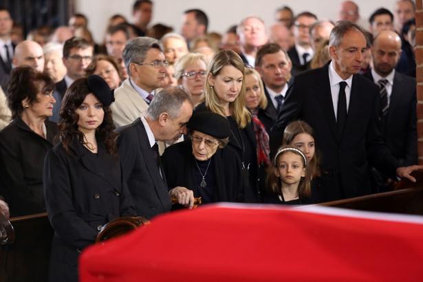 Uroczystości pogrzebowe profesora Władysława Bartoszewskiego