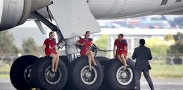 Tak się bawi załoga, gdy samoloty nie latają