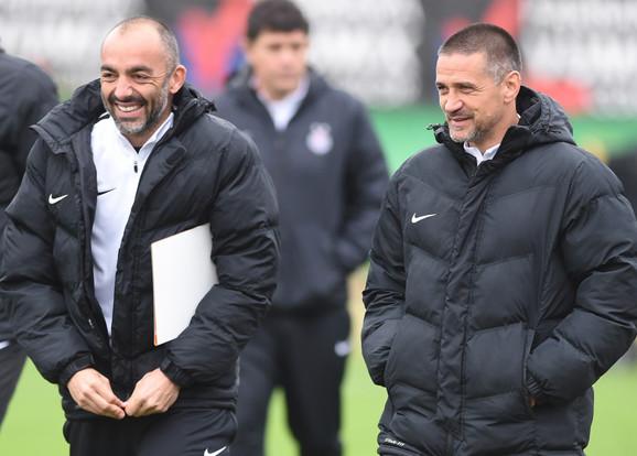 Žarko Lazetić i Zoran Mirković