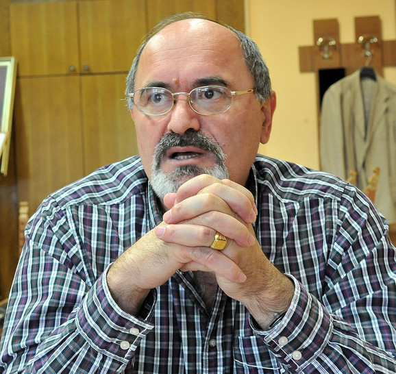 Milan Višnjić, dekan Medicinskog fakulteta