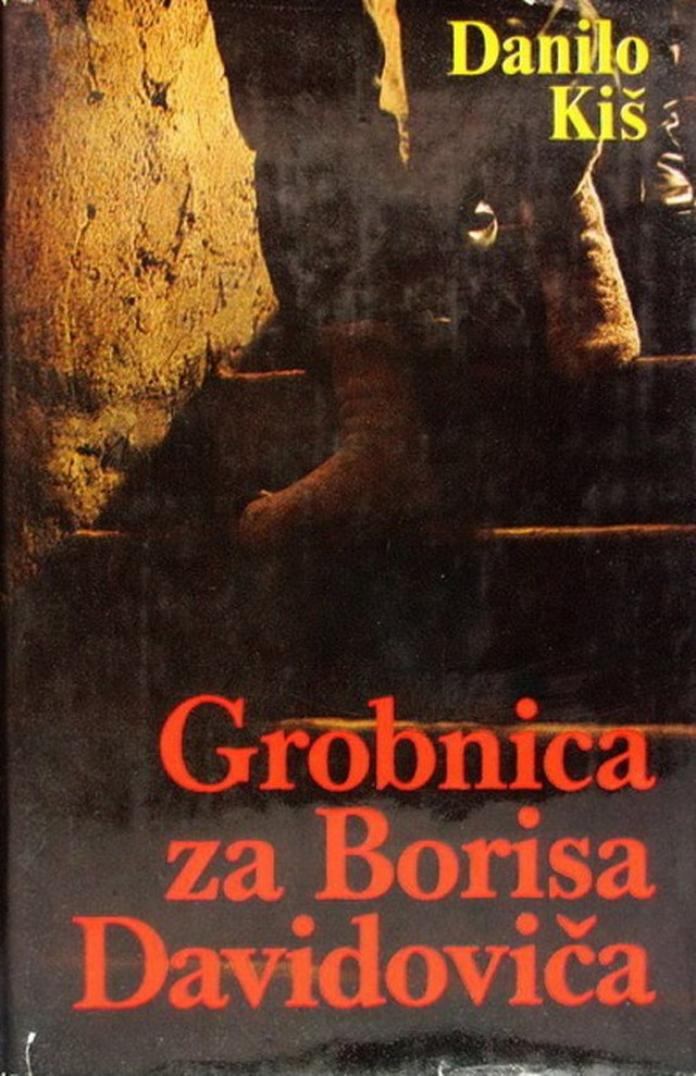 Korica knjige koja je izazvala veliku polemiku u književnoj javnsoti SFRJ