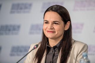 Cichanouska: Cieszy mnie wsparcie różnych sił politycznych w Polsce