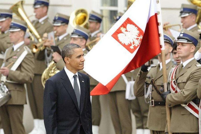 Obama w Polsce był bezbronny