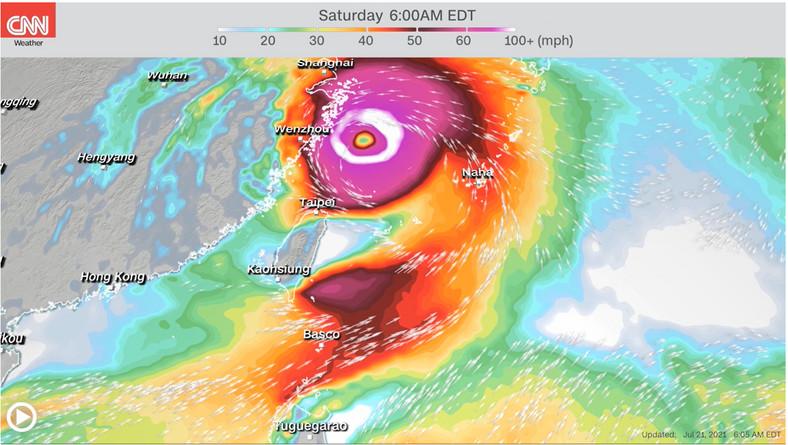 Hurikán zasiahne východnú Čínu cez víkend