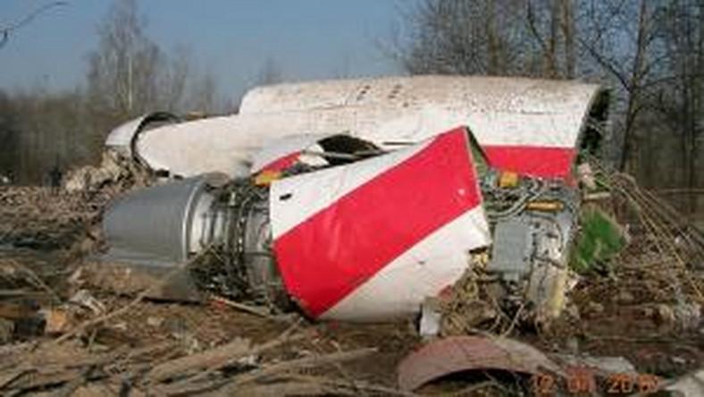 Wrak Tu-154 pod Smoleńskiem
