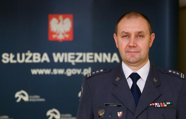 Nowy Dyrektor Generalny Służby Więziennej - płk Jacek Kitliński