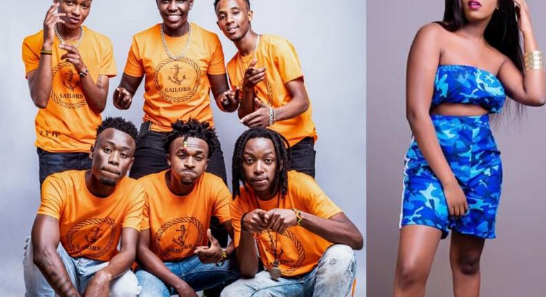"Nadia Mukami teams up with Sailors on ""Ni Tekenye and it's a Big tune (Video)"